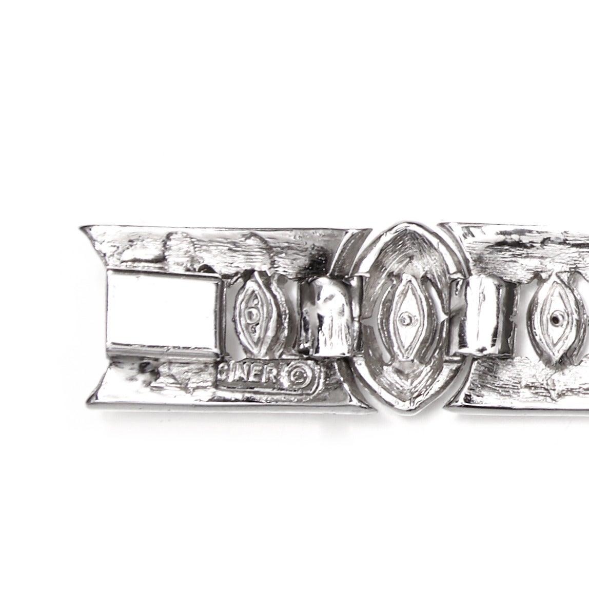 Women's Vintage Ciner Art Deco Bracelet For Sale