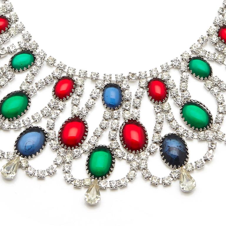 Vintage Alice Caviness Moghul Collar In Excellent Condition For Sale In London, GB