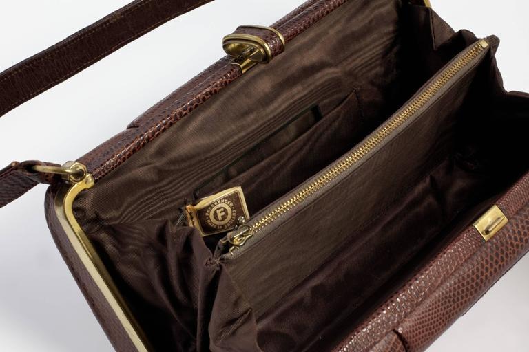 Vintage 1940's Fassbender Handbag In Excellent Condition For Sale In London, GB