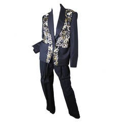 Rare 1980s Chloe Beaded 3 Piece  Suit _ Sale