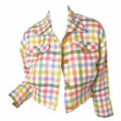 Ungaro Pastel Cropped Jacket  - sale
