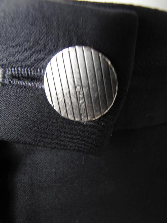Chanel Black Trousers For Sale 1