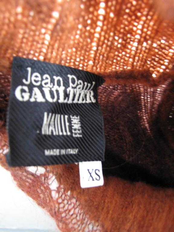 Jean Paul Gaultier Sweater Dress For Sale 2
