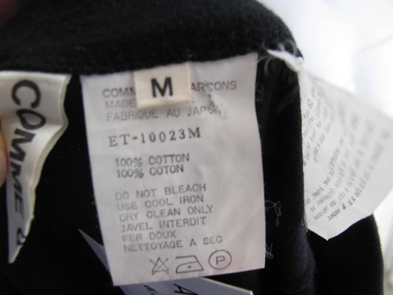 Black Comme des Garcons Skirt with Cummerbund For Sale