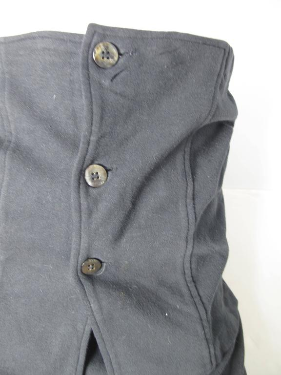Comme des Garcons Skirt with Cummerbund In Good Condition For Sale In Austin, TX