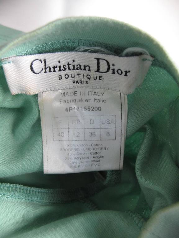 Christian Dior J'adore Dior Embroidered Tee - sale 4