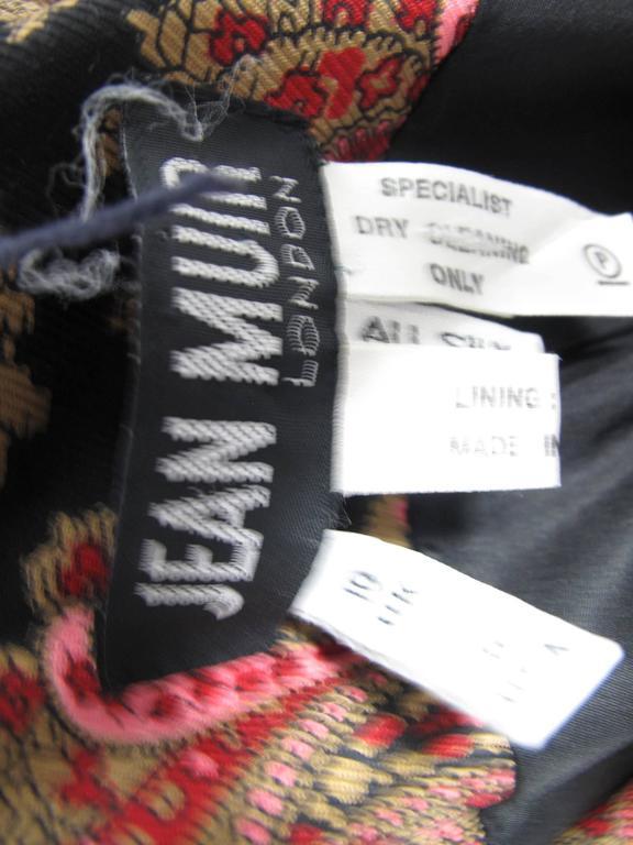 Jean Muir Silk Paisley Coat 4
