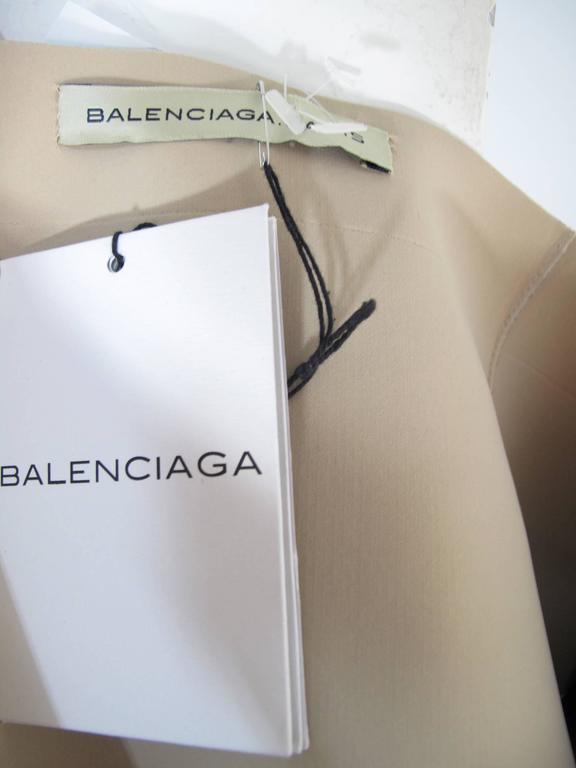 Black Balenciaga Silk and Polyamide Printed Skirt NWT   For Sale