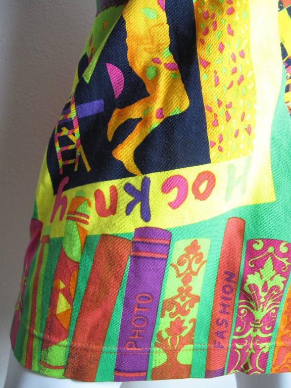 Women's Istante Versace Hockney Skirt For Sale