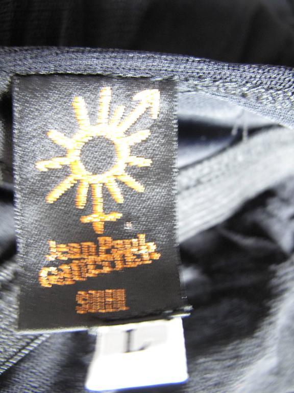Women's Jean Paul Gaultier Long Sheer Mesh Dress For Sale