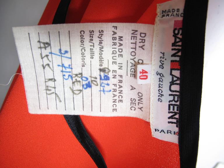 Yves Saint Laurent Silk Top -sale 4