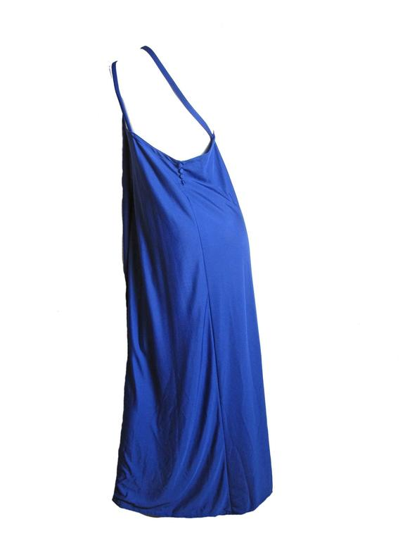 Adele Simpson One Shoulder Gown, 1970s In Excellent Condition For Sale In Austin, TX