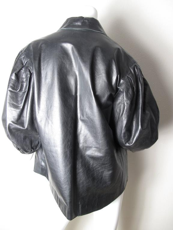 Yves Saint Laurent Leather Shirt  2