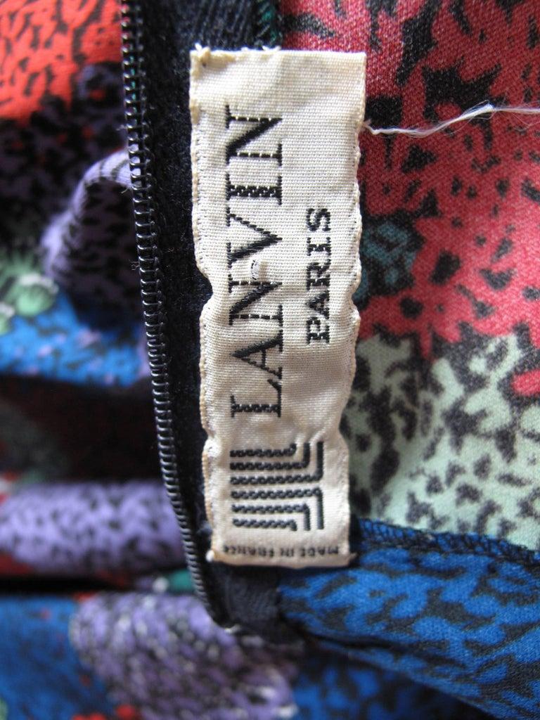 1970s Lanvin dress For Sale 1