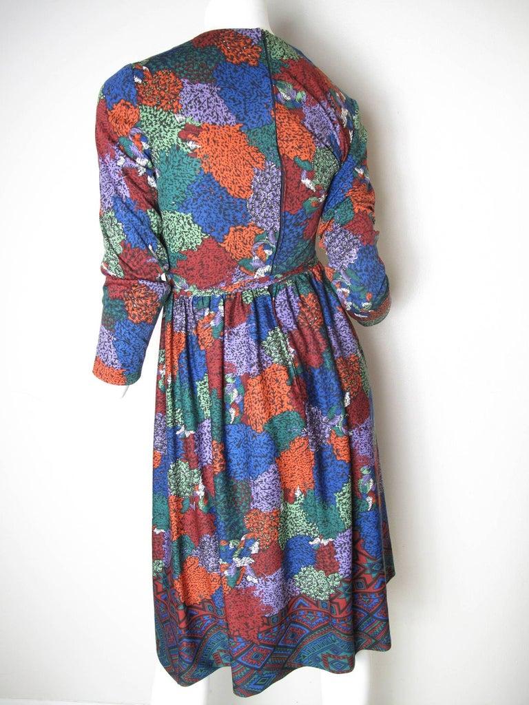 Gray 1970s Lanvin dress For Sale