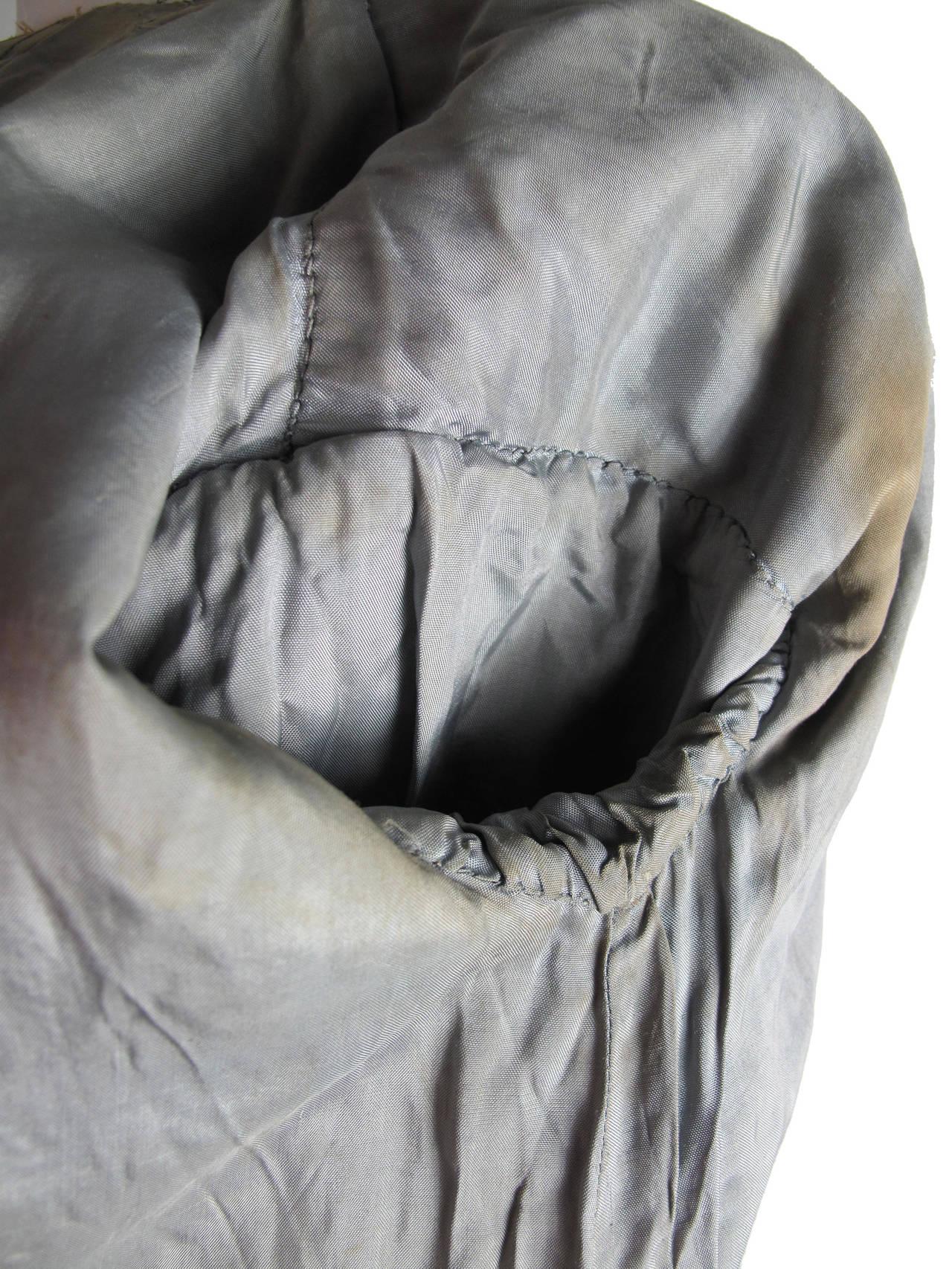 Harem Coat black velvet with gold thread 9