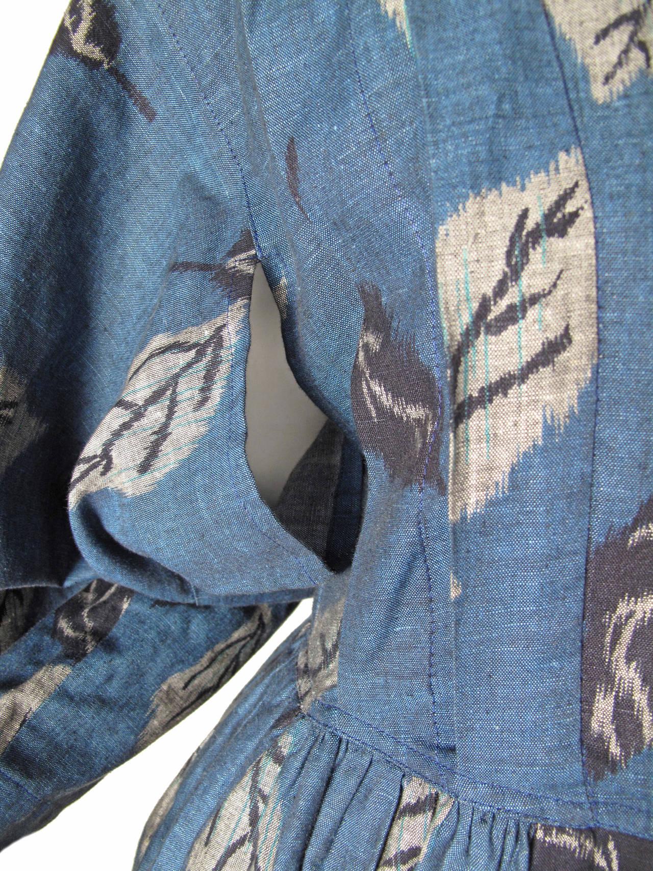 1980s Kenzo Kimono Dress 6