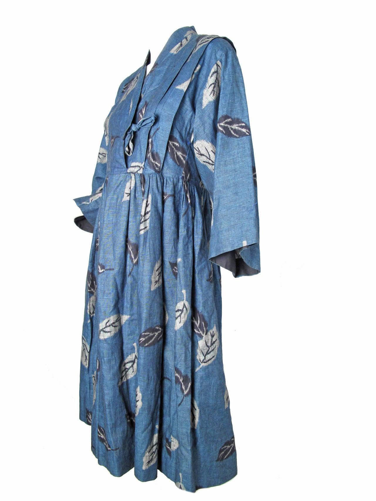 1980s Kenzo Kimono Dress 2