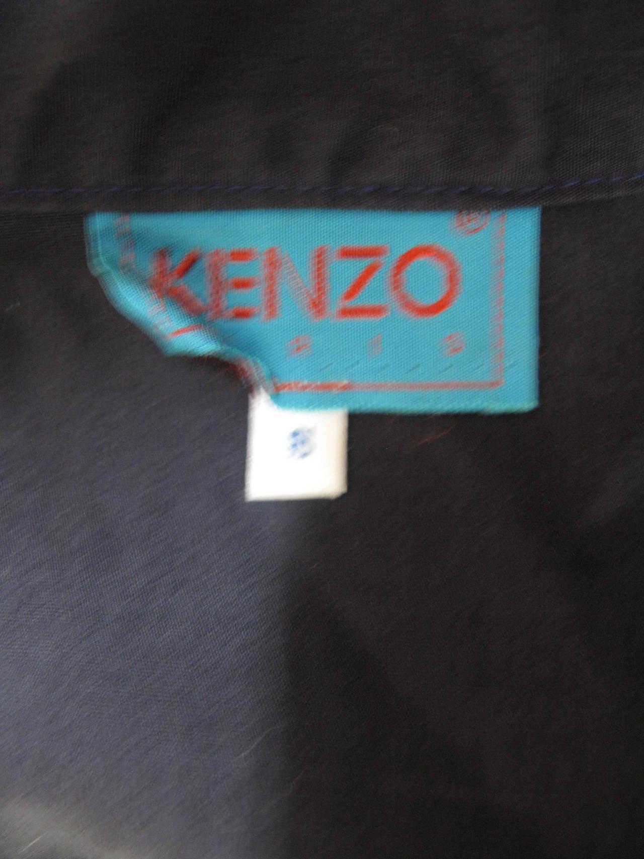 1980s Kenzo Kimono Dress 5
