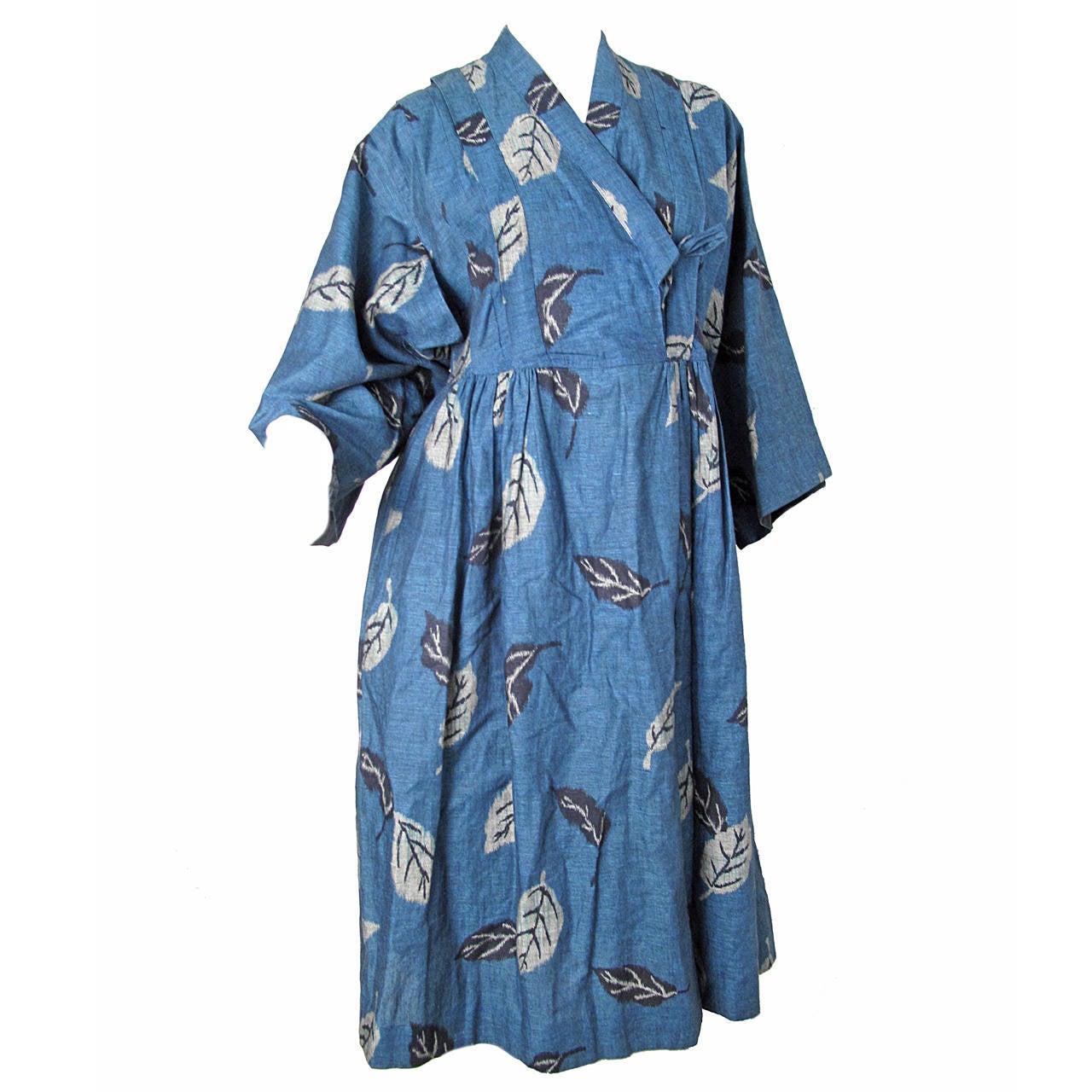 1980s Kenzo Kimono Dress 1