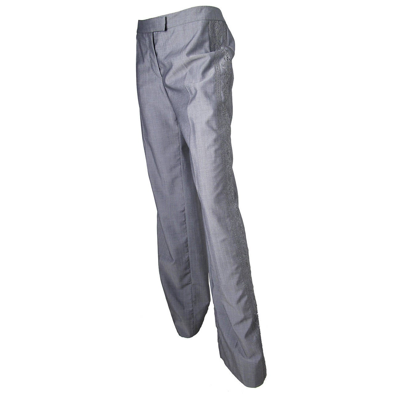 2005 Alexander McQueen Grey Pants - never worn