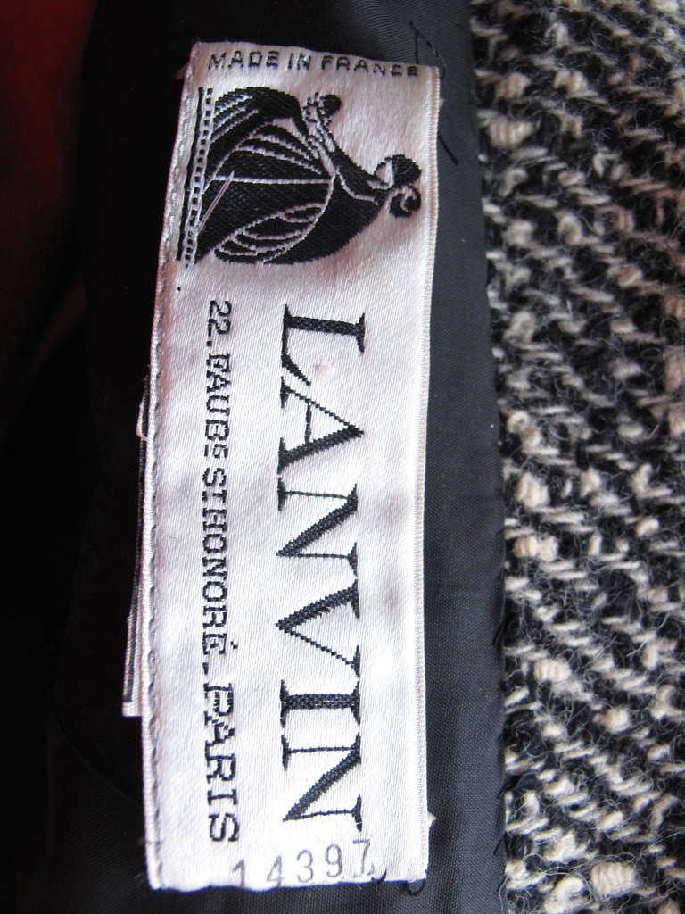 Lanvin Couture numbered jacket 3