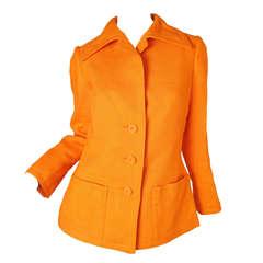 1960s Geoffrey Beene Linen Jacket
