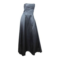 1990s Richard Tyler Couture strapless ballgown