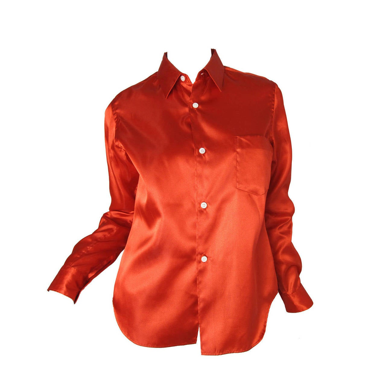 Comme des Garcons Red Shirt,  2008  For Sale