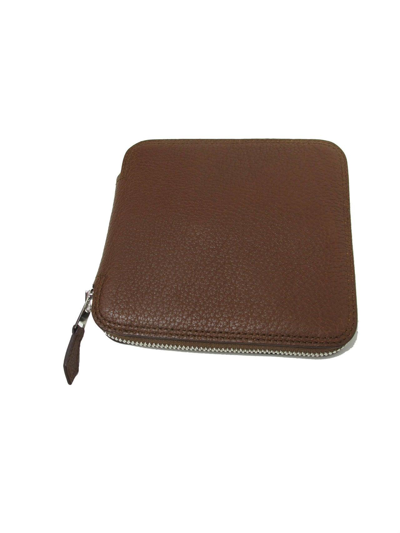Rare Hermes Orange H Shopper Tote Collapsible Zip Handbag - sale 2