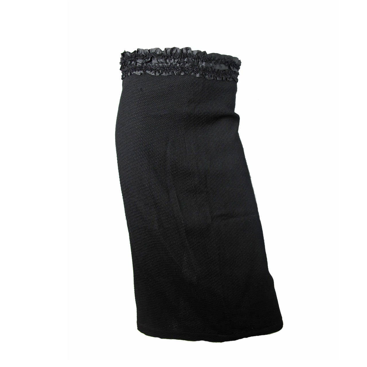 Comme des Garcons skirt with embellished waistband, circa 2008