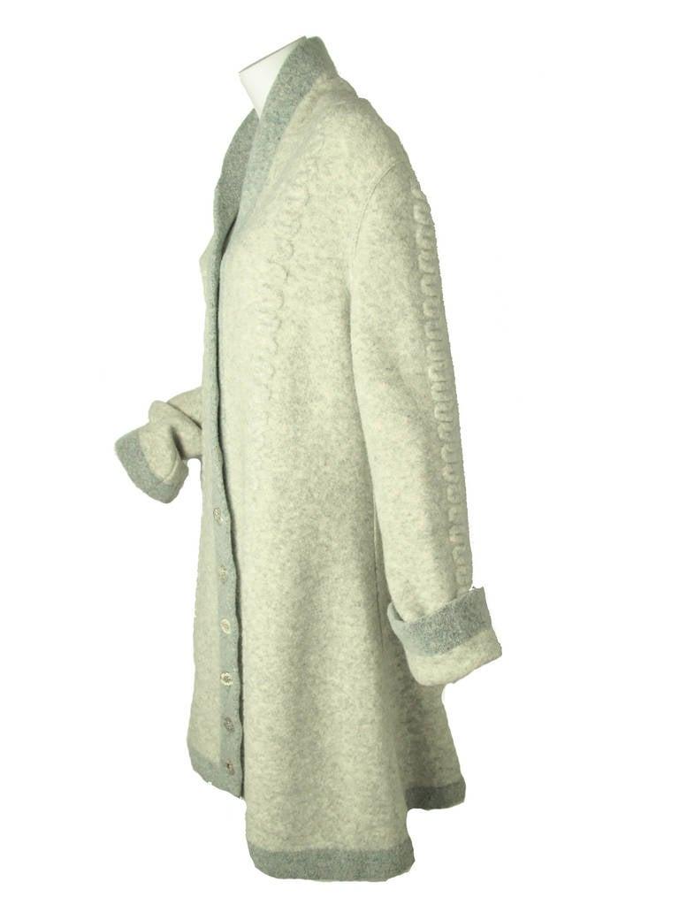 Women's Rare 1990s Alaia Sweater Coat - sale For Sale