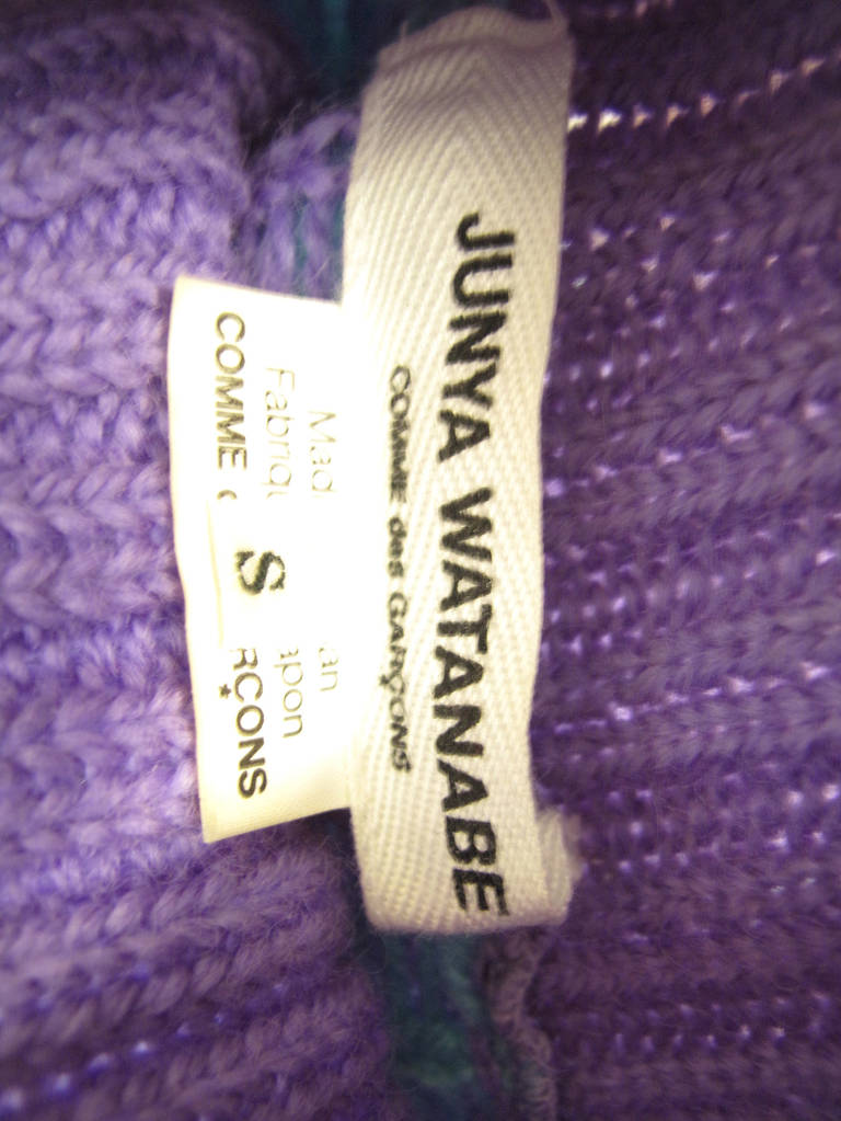 Comme des Garcons Junya Watanabe wool sweater In New Condition For Sale In Austin, TX