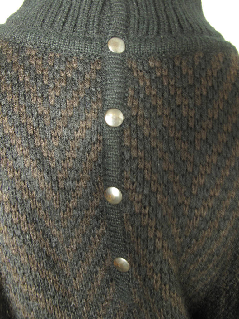 Alaia knit sweater dress In New Condition For Sale In Austin, TX