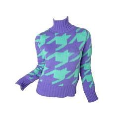 Comme des Garcons Junya Watanabe wool sweater