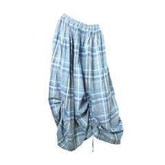 1980s Issey Miyake Plantation Adjustable Skirt