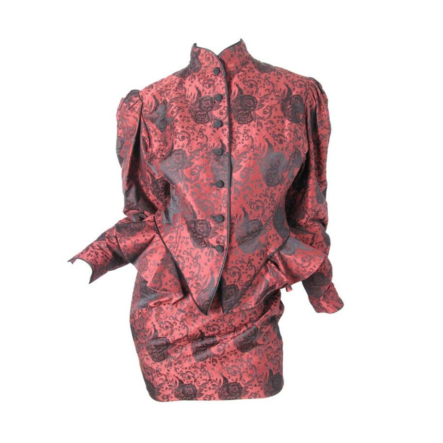 Ungaro Brocade Suit