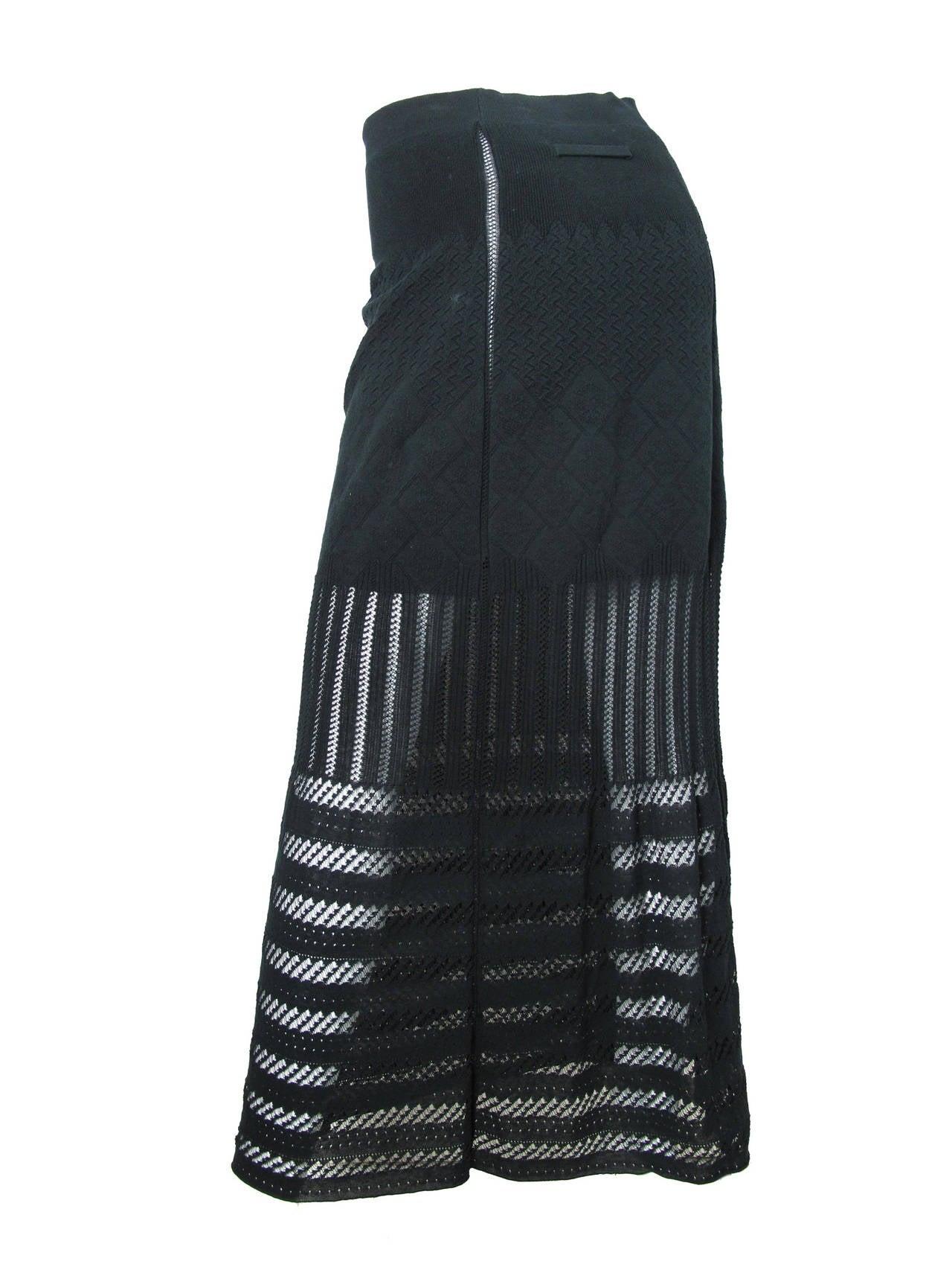1990s Jean Paul Gaultier Ankle Length Skirt 2