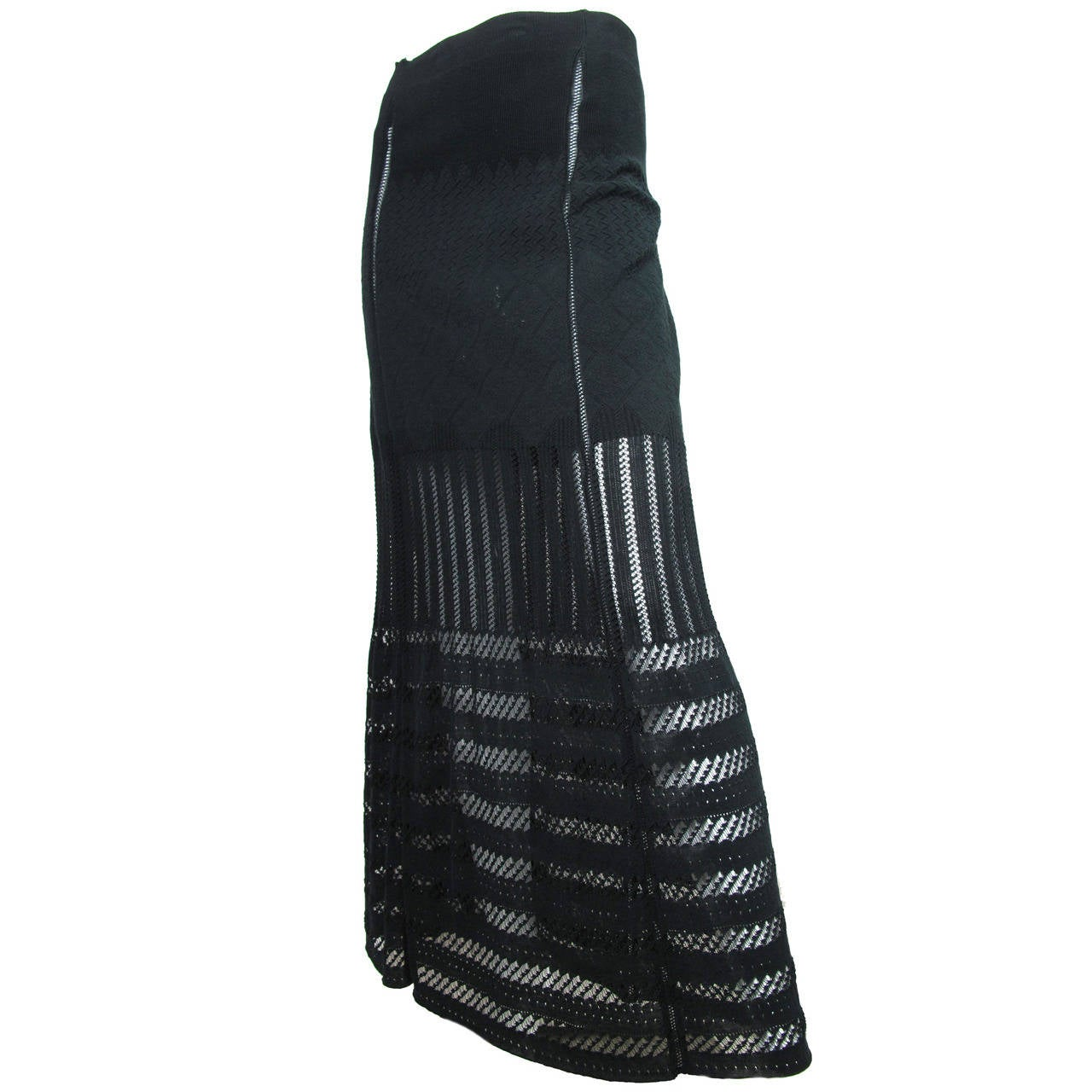 1990s Jean Paul Gaultier Ankle Length Skirt 1