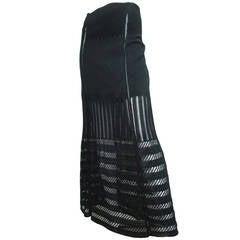 1990s Jean Paul Gaultier Ankle Length Skirt