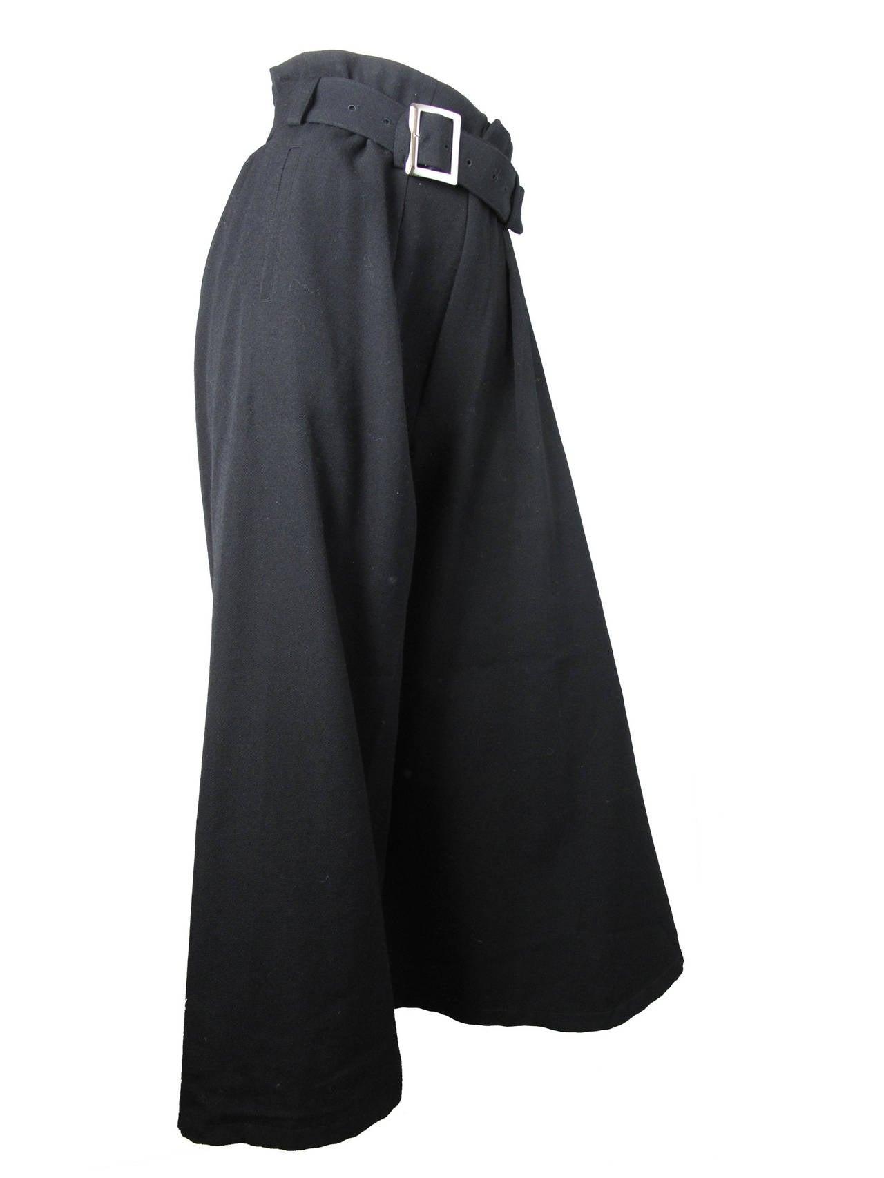Yohji Yamamoto Wide Leg Trousers 2