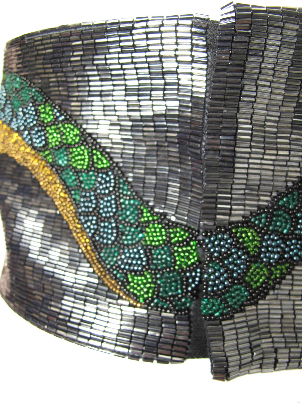 Women's Krizia Beaded Snake Top, 1980s  For Sale