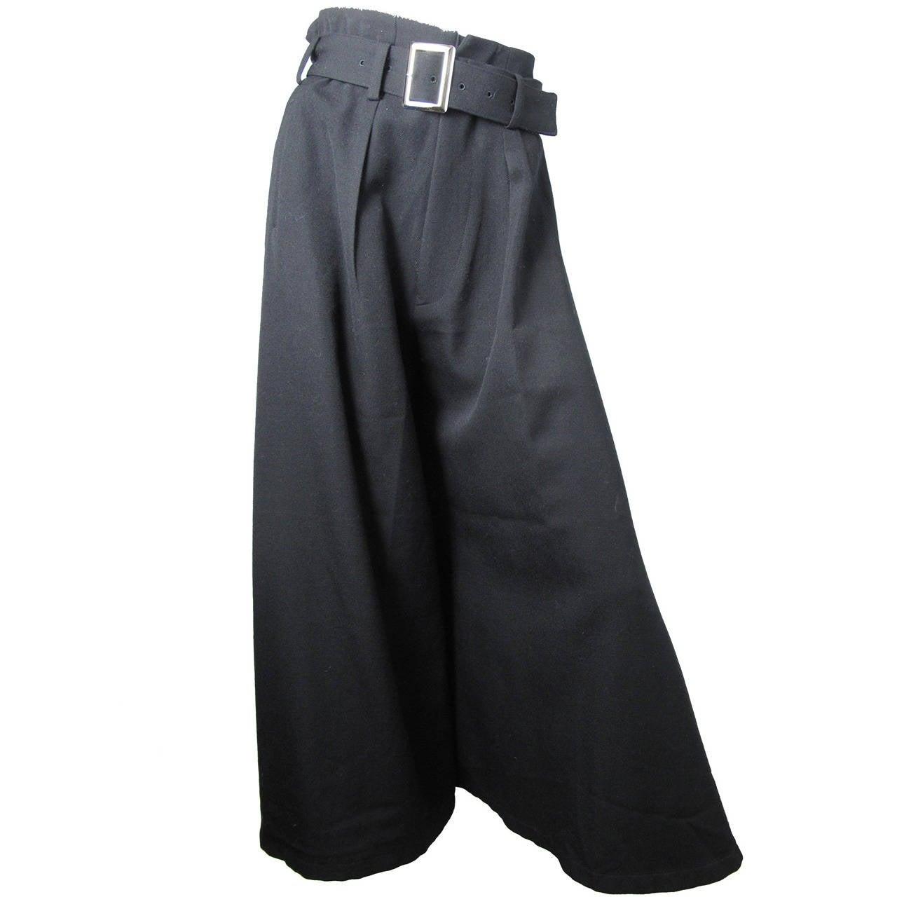 Yohji Yamamoto Wide Leg Trousers 1