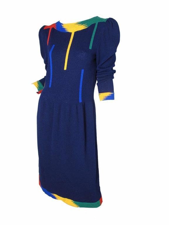 1970s Adolfo Knit Dress  3