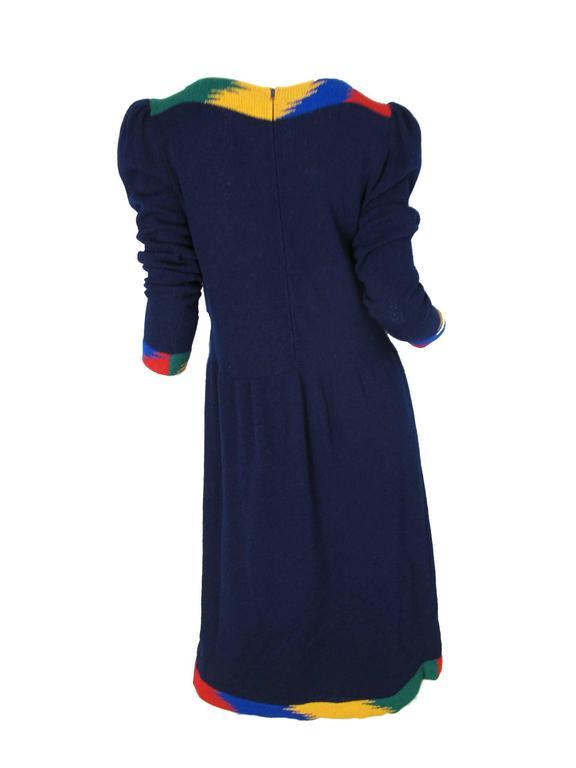 1970s Adolfo Knit Dress  2