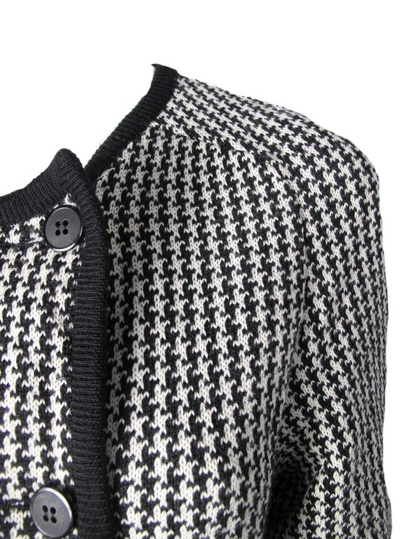 1980s Valentino Herringbone Sweater 5