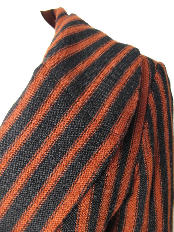 1970s Oscar de la Renta Knit Coat For Sale at 1stdibs