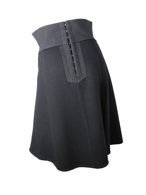 Louis Vuitton Heavy Cashmere Skirt 3