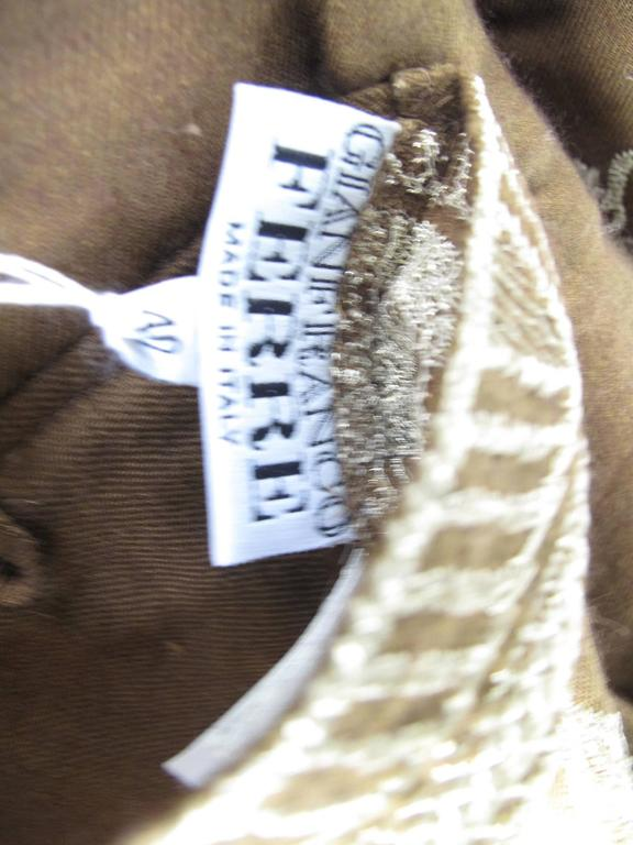 Amazing Gianfranco Ferre Reversible Coat with attached Scarf/ Head Scarf 10