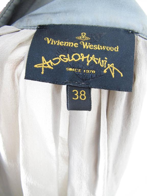 Women's Vivienne Westwood Anglomania Chiffon Pirate Blouse For Sale